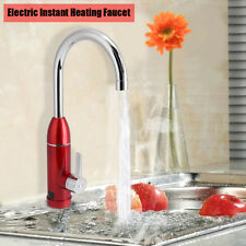 220V Electric Faucet Tap Hot Cold Water Heater Heating Instant Kitchen Sink Tool