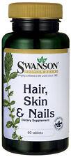 Hair, Skin & Nails x 60 Capsules (MSM ,Inositol, PABA )