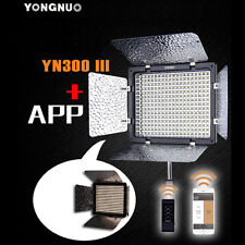 YONGNUO yn-300 3200k-5500k LUCE LED III per Nikon d90 d600 d3100 d5000 d7000