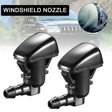 Pair Windshield Wiper Spray Jet Washer Nozzle for Jeep Grand Cherokee 05-18 AU