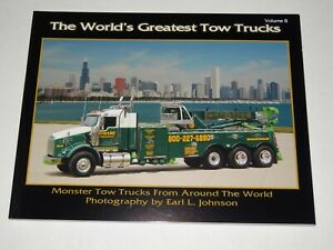 THE WORLDS GREATEST TOW TRUCKS VOLUME 8 APRIL 2010 PAPERBACK NEW, OLD STOCK