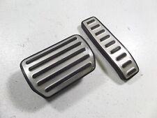 03-10 Porsche Cayenne OEM Aluminum Pedal Pad Set Brake Gas 955 957 7L5721647