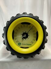John Deere Rubber Tire Thermometer Wall/Desk