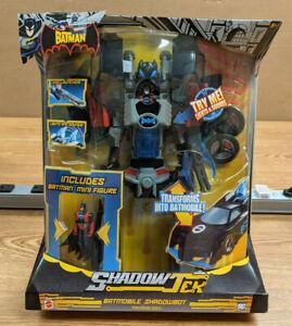 Mattel The Batman ShadowTek Batmobile ShadowBot Transforming Vehicle - Sealed