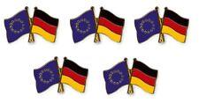 5er Pack Freundschaftspin Europa - Deutschland, Pin, Flagge, Anstecknadel