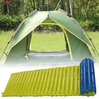 Outdoor Camping Self-Inflating Air Mat Mattress Pad Pillow Hiking Sleeping Bed.