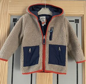MANTARAY. Boys Chunky Fleece Jacket. Age 2-3yrs.