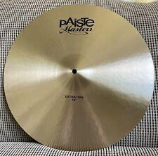"Paiste Masters 18"" Extra Thin Cymbal"