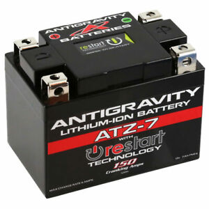 NEW 12V7AH 150CCA Antigravity ATZ-7 RE-START Battery