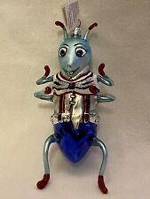 "New Listing""Whopper Hopper 2� Slavic Treasures 154-B Fb H/Blown Glass Ornament 1999 Nib"