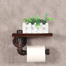 Toilettenpapierhalter Design Papierrollenhalter WC Rollenhalter Metall, Holz
