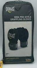 Everlast MMA Pro Style grappling gloves black LARGE XL competition training