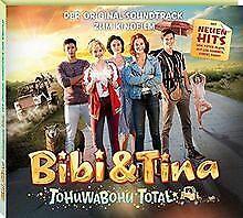 Soundtrack 4.Kinofilm: Tohuwabohu total von Bibi & Tina   CD   Zustand gut