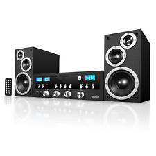 Innovative Technology Bluetooth Home Speaker Stereo System CD FM Radio Aux