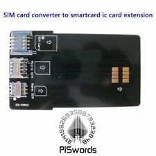 SIM card converter to smartcard ic extension for micro nano adapter adaptor kit