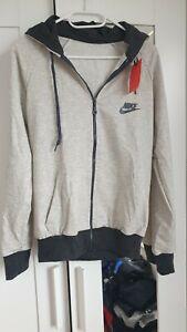 Nike Damen Trainingsanzug mit Kapuze, Jogginganzug, Sportanzug, Neu, Größe L