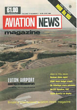AVIATION NEWS V17 N2 MBB Bo.105 GERMANY SPAIN CANADA_WW2 RAF No.232 SQN_AIR ATLA