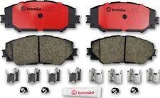 Front Disc Brake Pads Brembo Ceramic Slotted For Toyota RAV4 Corolla Prius V