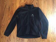 Mens Arcteryx Jacket Black Polartec Medium