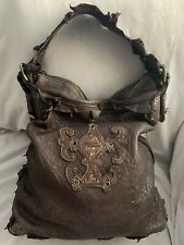 SHERRY NIKKA Leisure Couture LEATHER LARGE BOHEMIAN SHOULDER Bag TOTE