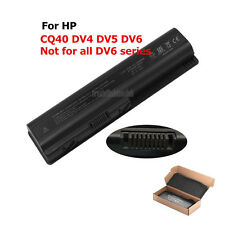 Spare Battery/Charger For 484170-001 HP Pavilion DV4 DV5 DV6 G70 HDX16 Laptop