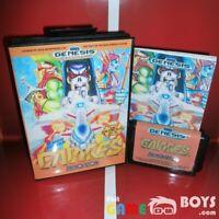 Gaiares Game Cartridge SEGA Genesis Complete Boxed + Manual USA Version NTSC-U/C