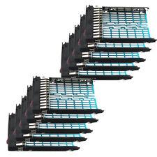 "10x 2.5"" SAS SATA Drive Tray Caddy 378343-002 for HP DL380 DL360 BL460c ML350 US"