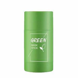 Green Tea Purifying Clay Mask Stick Face Deep Cleansing Acne Remover Oil Control