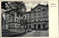 Göttingen Niedersachsen alte Postkarte ~1930 Partie am Auditorium Grünanlagen