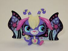 Littlest Pet Shop #2826 Moonlite Purple Star Ray Moon Fairy