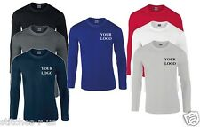 5 Softstyle long sleeve tshirt Embroidered / Personalised / Workwear