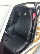 1970 - 1978 Datsun 240Z/260Z/280Z Synthetic Leather Black Seat Covers Z Logo