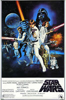 """STAR WARS - A NEW HOPE (PART IV) - MOVIE POSTER - 91 x 61 cm 36"""" x 24"""""""