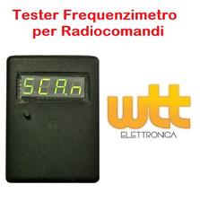 CONTATORE di frequenza Rivelatore Tester per Auto Auto Key Telecomando Controllo RF Fix