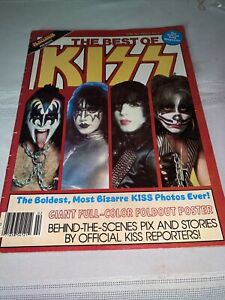 KISS Platinum Presents The Best Of KISS Magazine 1979 COMPLETE WITH GIANT POSTER