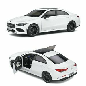 1/18 Scale, Mercedes Benz CLA C118 Coupe AMG Line White 2019,  New, Solido, Mode