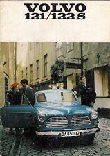 Volvo 120-Series Amazon 1968-69 UK Market Sales Brochure 121 122S