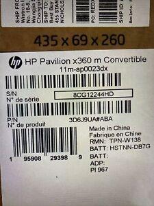 "Brand New HP Pavilion 11.6"" Touch Laptop - Intel Pentium - 4GB RAM - 128GB SSD"
