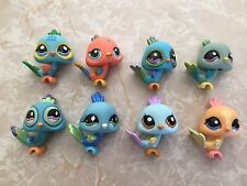 Littlest Pet Shop RARE Peacock #985 1719 1069 1898 869 1462 463 Bird HUGE Lot