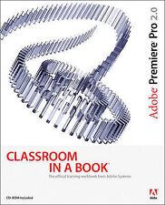 Adobe Premiere Pro 2.0 Classroom in a Book, Good Condition Book, Adobe Creative