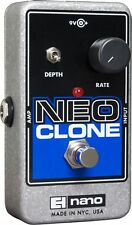 NEW ELECTRO HARMONIX NEO CLONE ANALOG CHORUS PEDAL w/ FREE US S&H