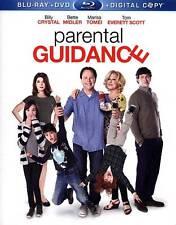 Parental Guidance (Blu-ray/DVD, 2013, 2-Disc Set) Billy Crystal, Bette Midler