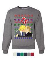 Trump Putin Lovers Ugly Sweater Sweatshirt USSR Russia Impeach Xmas Sweater