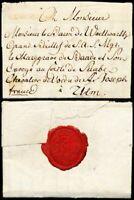 1792, REGENSBURG, kpl. Franko-0 Brief nach Ulm (Hb € 100.00)