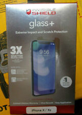 NEW ZAGG Invisible Shield Glass+ Screen Protector for Apple iPhone X and XS
