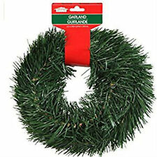 New 15 Ft Christmas House Artificial Pine Garland Ornament Holiday Decor ~Qty 1