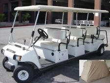 Golf Cart 8 Passengers Storage Cover fits EZGO, Club car or Yamaha model Taupe