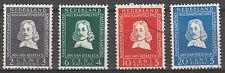 o Ned. NVPH 578/81, Jan van Riebeeck 1952 -  Cat.w. € 16,--