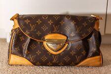 Louis Vuitton Looping MM Monogram Handbag Shoulder Bag Canvas Leather