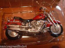 *Rewards Center Maisto Harley Davidson 2002 FLSTF Fat Boy Die Cast Motorcycle